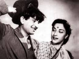 Raj Kapoor and Nargis in Awaara