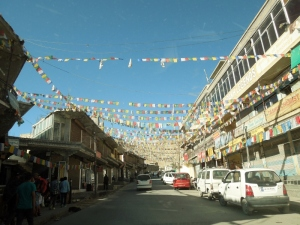 Leh - prayer flags
