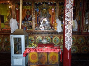 Temple in Leh Palace